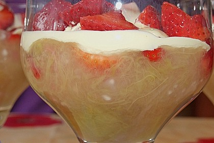 Rhabarber - Erdbeer - Kompott 3