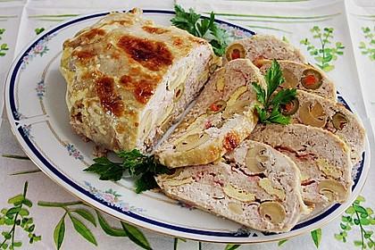 Feine Hühnerpastete