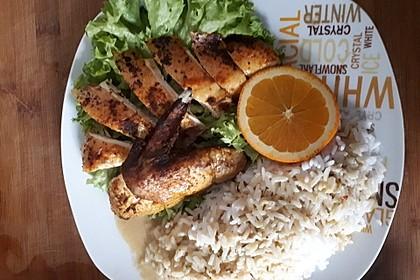 Huhn in Orangen - Honig - Sauce 2