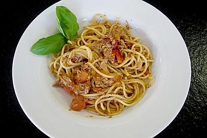 Thunfisch - Spaghetti 6