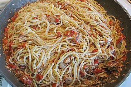 Thunfisch - Spaghetti 3