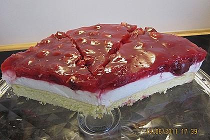 Rote Grütze Torte - blitzschnell und sommerlich leicht nach Ille 14