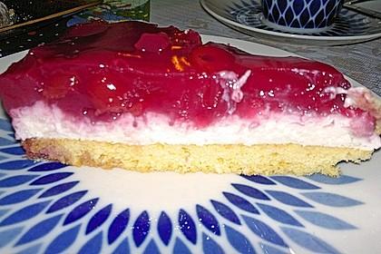 Rote Grütze Torte - blitzschnell und sommerlich leicht nach Ille 17