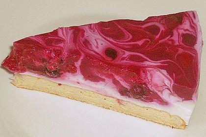 Rote Grütze Torte - blitzschnell und sommerlich leicht nach Ille 3