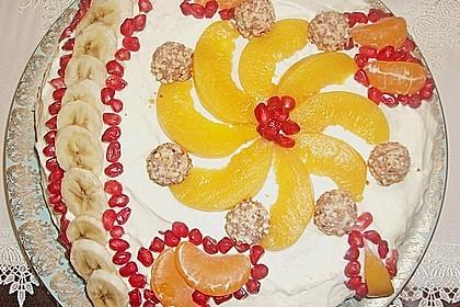 Giotto - Nusstorte mit Pfirsichen 6