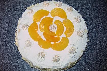 Giotto - Nusstorte mit Pfirsichen 7