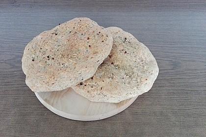 Kleine Pizza - Fladenbrote 24