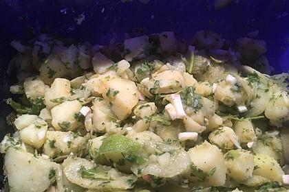 Türkischer Kartoffelsalat ohne Mayo 14