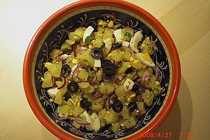 Türkischer Kartoffelsalat ohne Mayo 13
