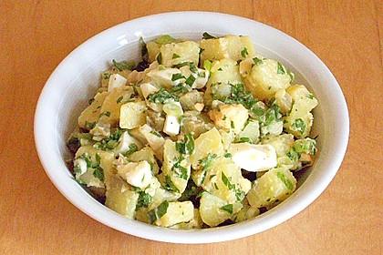 Türkischer Kartoffelsalat ohne Mayo 6