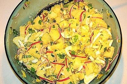 Türkischer Kartoffelsalat ohne Mayo 5