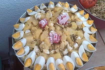 Türkischer Kartoffelsalat ohne Mayo 4