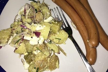 Türkischer Kartoffelsalat ohne Mayo 9
