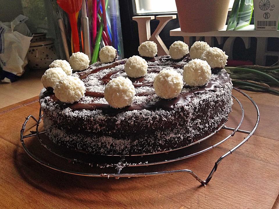 Schoko Kokos Kuchen Von Mima53 Chefkoch De