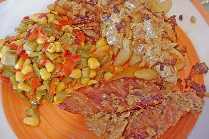 Minutensteaks mit Bacon und Pilzen 6