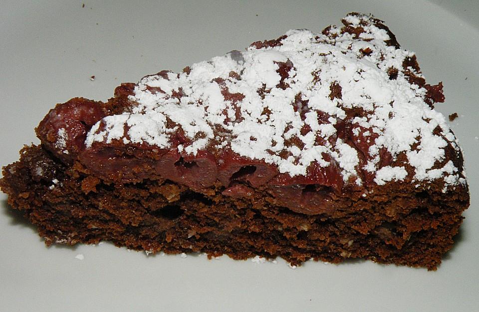 Kirschen Schoko Kokos Kuchen Von Mima53 Chefkoch De