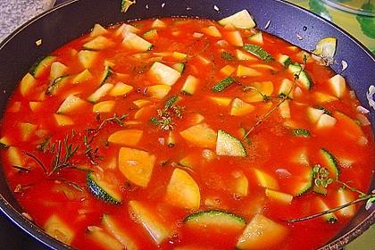 Mediterrane Zucchinipfanne 2