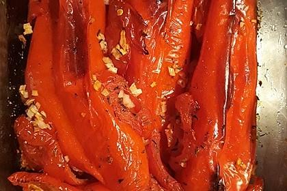 Türkische Paprika aus dem Backofen - sehr knackig 19