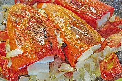 Türkische Paprika aus dem Backofen - sehr knackig 52