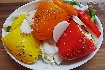 Türkische Paprika aus dem Backofen - sehr knackig 37