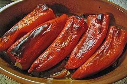 Türkische Paprika aus dem Backofen - sehr knackig 20