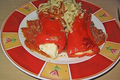 Türkische Paprika aus dem Backofen - sehr knackig 35