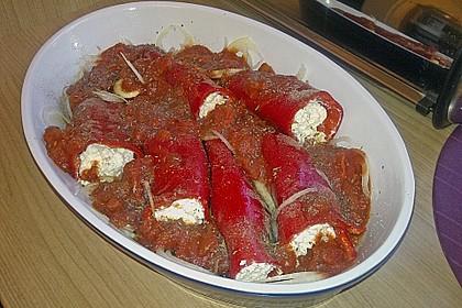 Türkische Paprika aus dem Backofen - sehr knackig 28