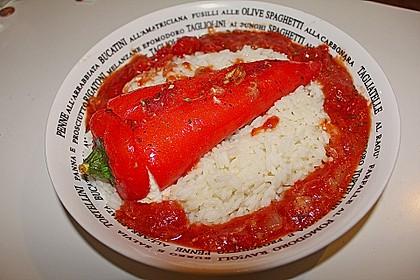 Türkische Paprika aus dem Backofen - sehr knackig 12