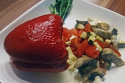 Türkische Paprika aus dem Backofen - sehr knackig 43