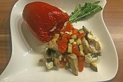Türkische Paprika aus dem Backofen - sehr knackig 51