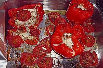 Türkische Paprika aus dem Backofen - sehr knackig 38