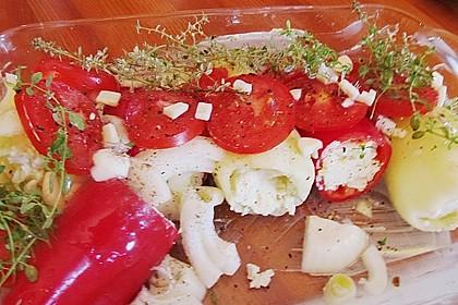 Türkische Paprika aus dem Backofen - sehr knackig 53