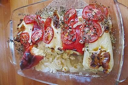 Türkische Paprika aus dem Backofen - sehr knackig 59