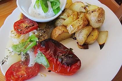 Türkische Paprika aus dem Backofen - sehr knackig 22