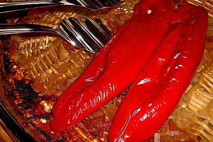 Türkische Paprika aus dem Backofen - sehr knackig 27