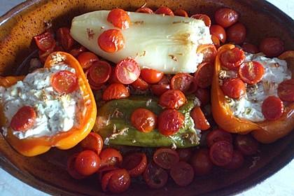 Türkische Paprika aus dem Backofen - sehr knackig 39