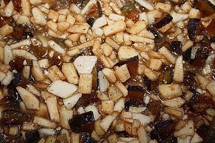 Zwetschgen - Äpfel - Birnen - Haselnuss - Marmelade 3