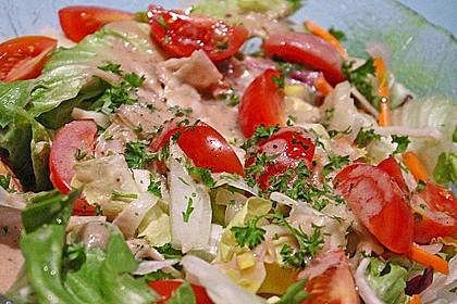 Honey - Mustard - Sauce für Salate oder Sandwiches