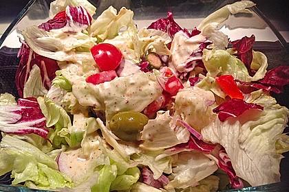 Honey - Mustard - Sauce für Salate oder Sandwiches 6