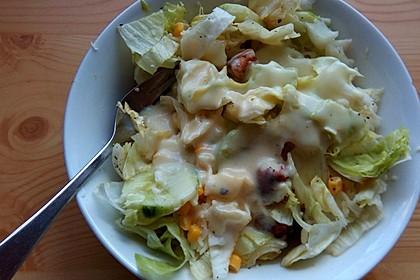 Honey - Mustard - Sauce für Salate oder Sandwiches 3