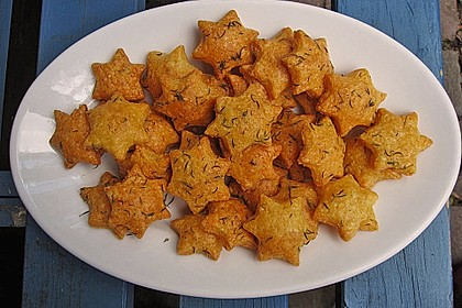 Französische Käse - Kräcker