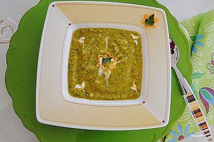 Brokkoli Süßkartoffel Suppe