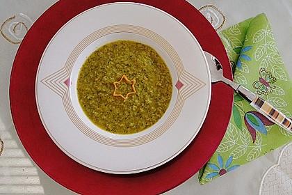 Brokkoli Süßkartoffel Suppe 2