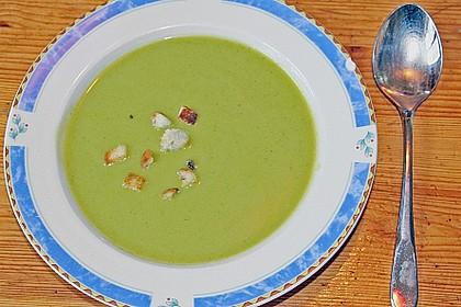 Brokkoli Süßkartoffel Suppe 4