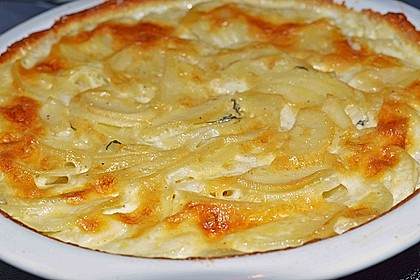 Kartoffelgratin mit frischem Thymian 6
