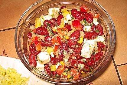 Rote Bohnen - Schafskäse - Salat 17