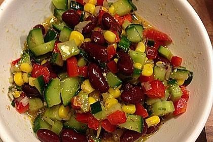 Rote Bohnen - Schafskäse - Salat 7