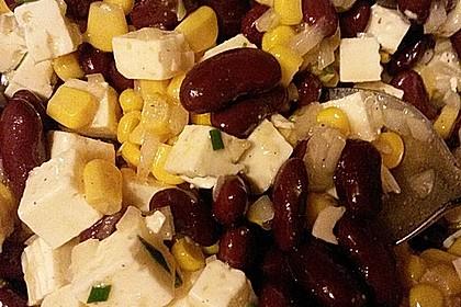 Rote Bohnen - Schafskäse - Salat 10