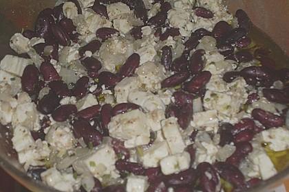 Rote Bohnen - Schafskäse - Salat 16