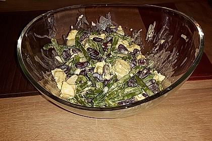 Rote Bohnen - Schafskäse - Salat 20